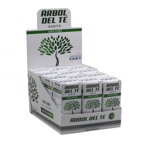 expositor Aceite Arbol del te farmacia