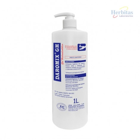 Daromix Gel Hidroalcohólico 1lt