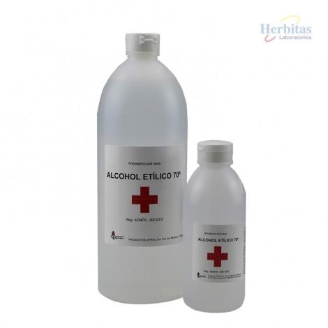 alcohol etilico herbitas 70
