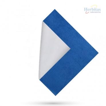Forro para plantillas fiberflex azul herbitas