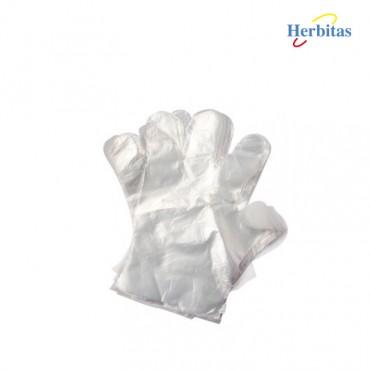 Guantes de plástico no estériles
