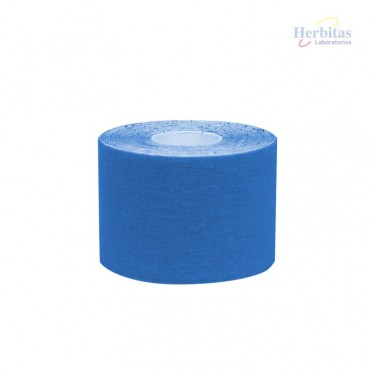 Tape terapéutico Azul