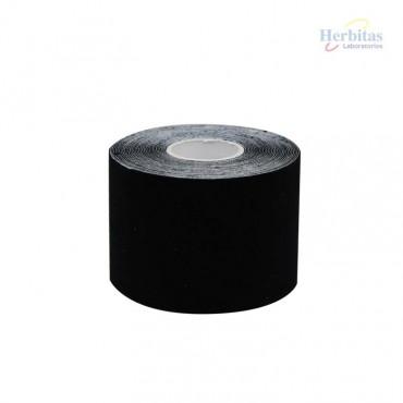 Tape terapéutico negro