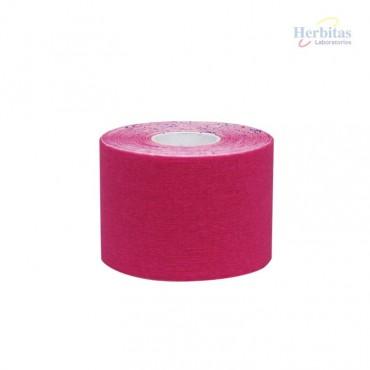 Tape terapéutico rosa