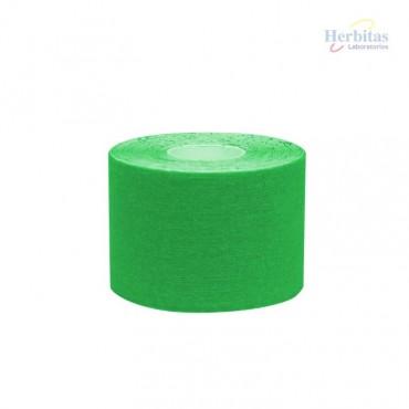 Tape terapéutico verde