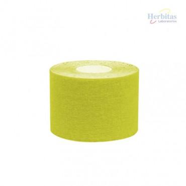 Tape terapéutico amarillo