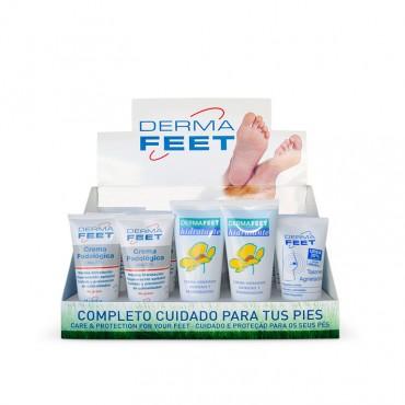 Expositor Dermafeet Cuidado del Pie 15 uds