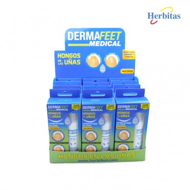 Expositor Dermafeet Medical Hongos
