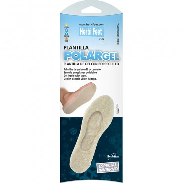 plantilla gel borreguillo