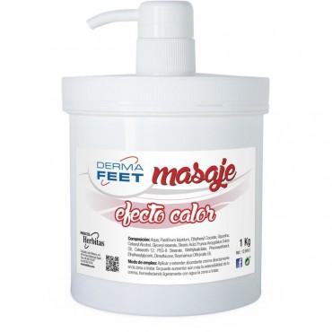 Crema Masaje Efecto Calor DERMA FEET 1 kg