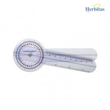 Goniometro plástico