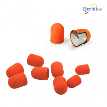 Capuchones de Lija Herbitas Podo-S-Caja