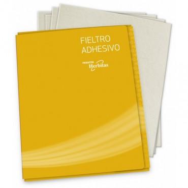 Fieltro Adhesivo Caja 7 planchas 2 mm
